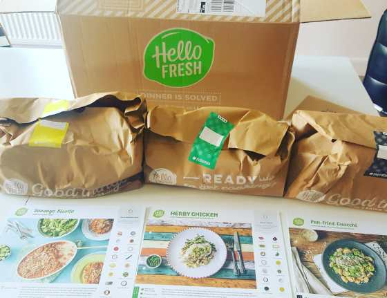 Hello Fresh Subscription Box