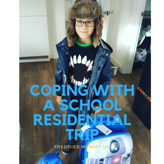 Coping with a school residential trip